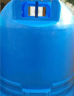 Contenedor azul